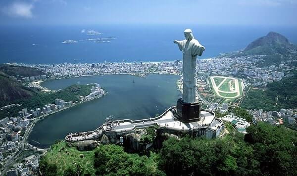 Christ Of Redeemer, Rio De Janerio, Brazil
